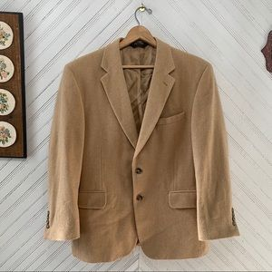Jos A Bank Camel Hair Sports Coat